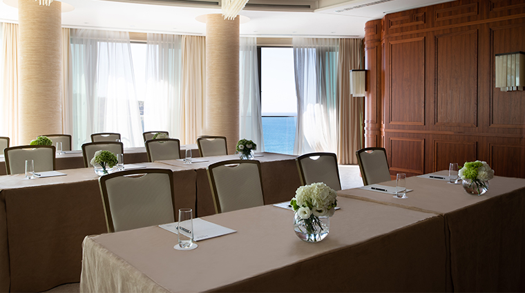 jumeirah port soller hotel spa Meeting Rooms Business Events Ballroom Classroom Set Up