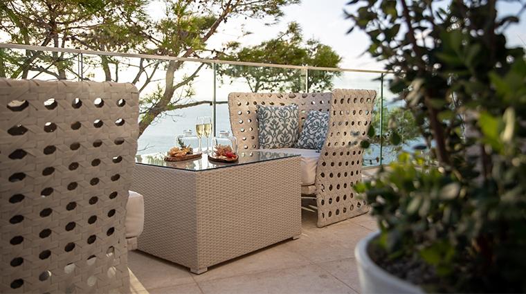 jumeirah port soller hotel spa lobby bar outdoor snacks