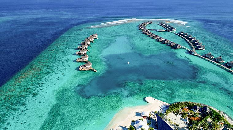 jumeirah vittaveli maldives aerial