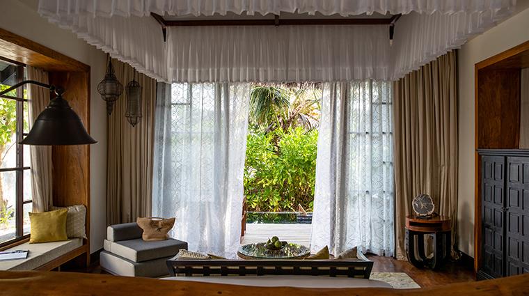 jumeirah vittaveli maldives beach villa view