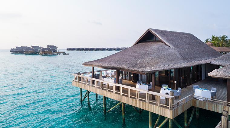 jumeirah vittaveli maldives fenesse aerial