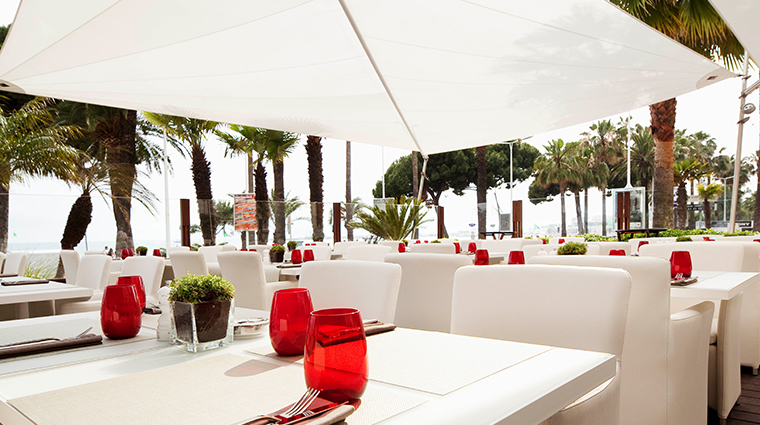 jw marriott cannes outdoor dining