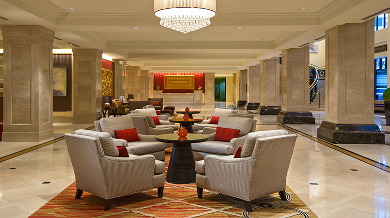 jw marriott chicago lobby