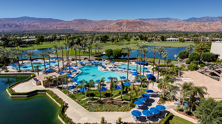 jw marriott desert springs resort spa pool aerial