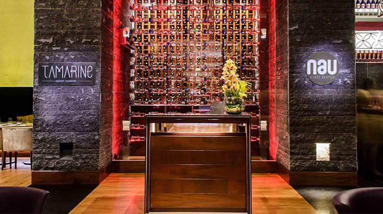 jw marriott hotel bogota tamarine and nau sushi