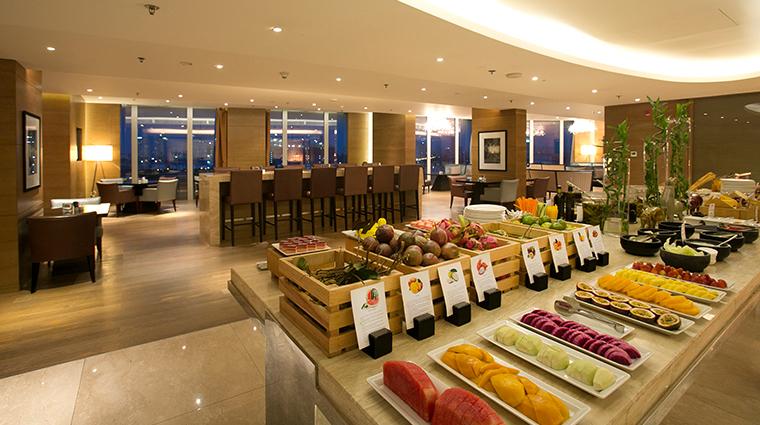jw marriott hotel hanoi exectuve lounge dining
