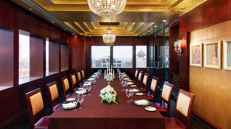 jw marriott hotel shanghai at tomorrow square California grill