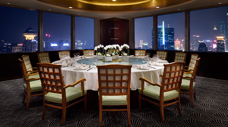 jw marriott hotel shanghai at tomorrow square Wan Ho restaurant