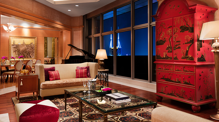 jw marriott hotel shanghai at tomorrow square chairman suite
