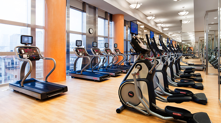 jw marriott hotel shanghai at tomorrow square fitness center