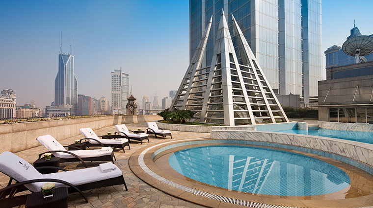 jw marriott hotel shanghai at tomorrow square outdoor pool