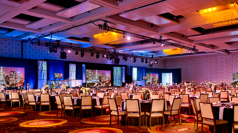 jw marriott los angeles la live ballroom diamond setup
