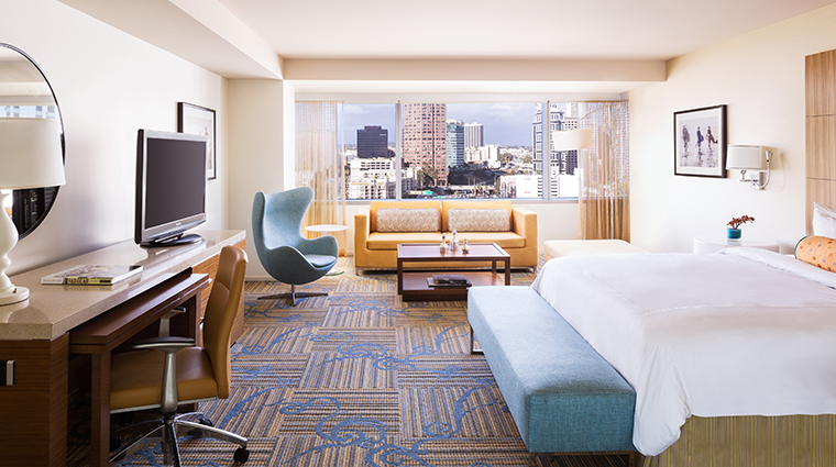 jw marriott los angeles la live junior suite