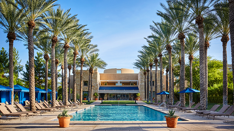 jw marriott phoenix desert ridge resort spa Revive Spa pool