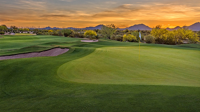 jw marriott phoenix desert ridge resort spa Wildfire Golf Club holes