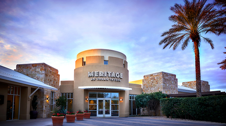 jw marriott phoenix desert ridge resort spa meritage entrance