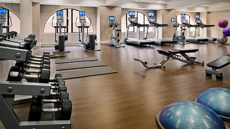 jw marriott san francisco union square fitness center