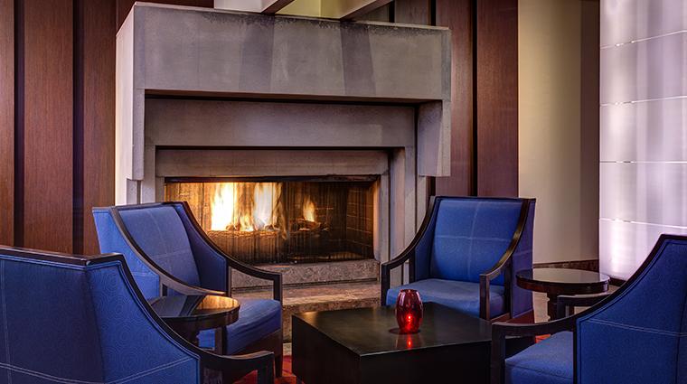 jw marriott san francisco union square lobby fireplace