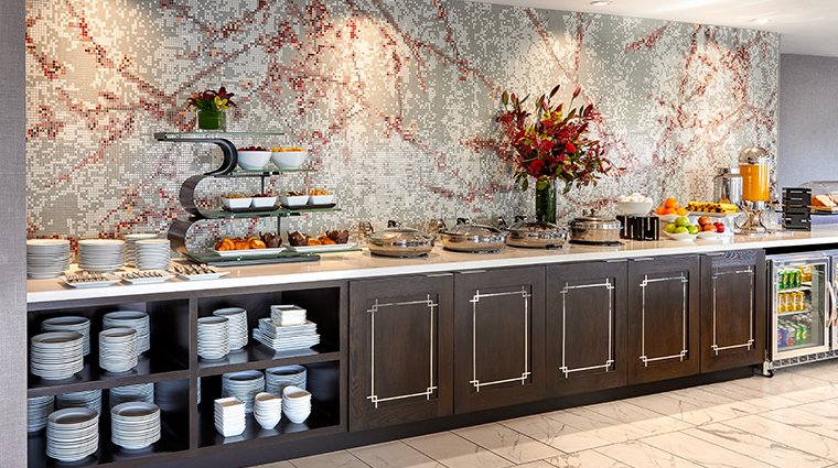 jw marriott san francisco union square new executive lounge buffet