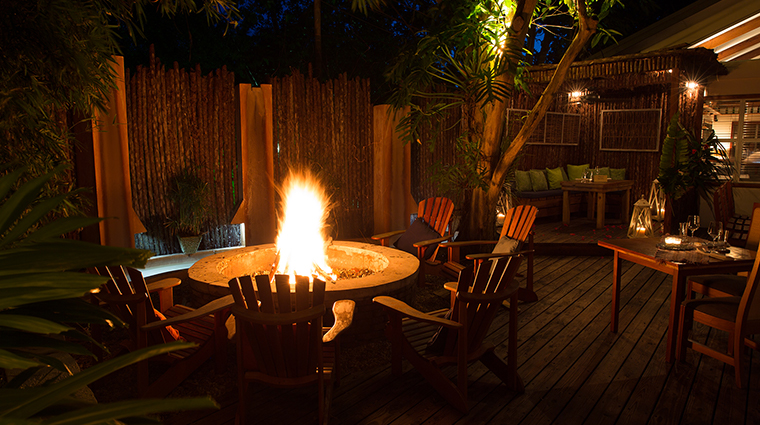 kaana resort firepit