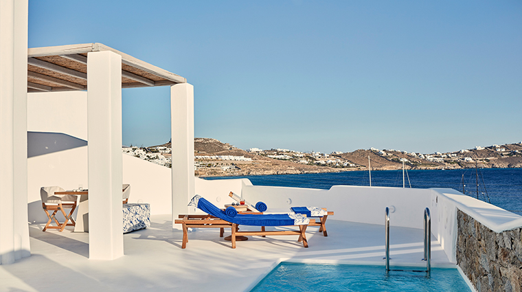 katikies mykonos honeymoon suite