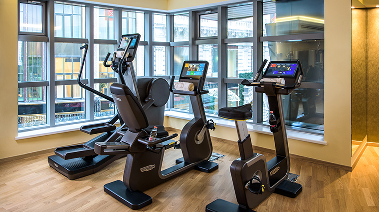 kempinski hotel corvinus budapest fitness center