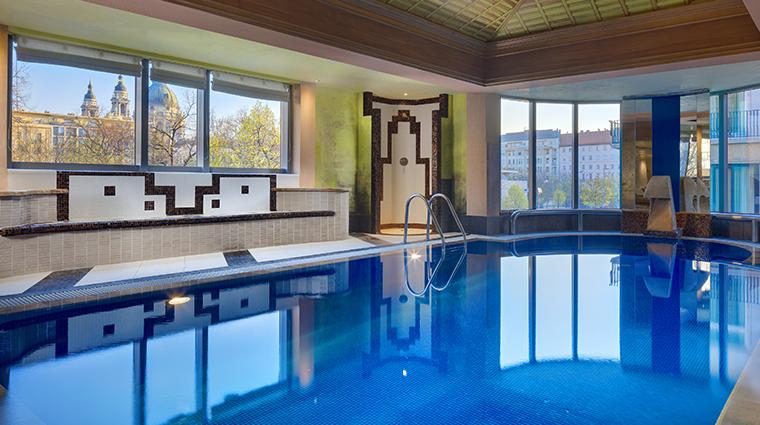 kempinski hotel corvinus budapest pool