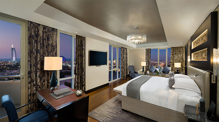 kempinski mall of the emirates presidential suite bedroom