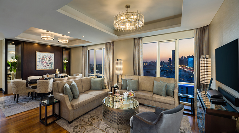 kempinski mall of the emirates presidential suite living room