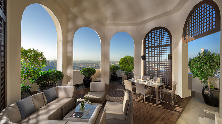 kempinski mall of the emirates presidential suite terrace