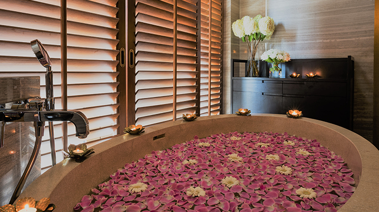 kempinski the spa at siam kempinski hotel flower tub