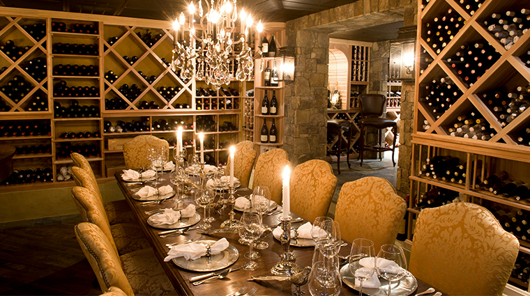 keswick hall and golf club Treble Wine Cellar