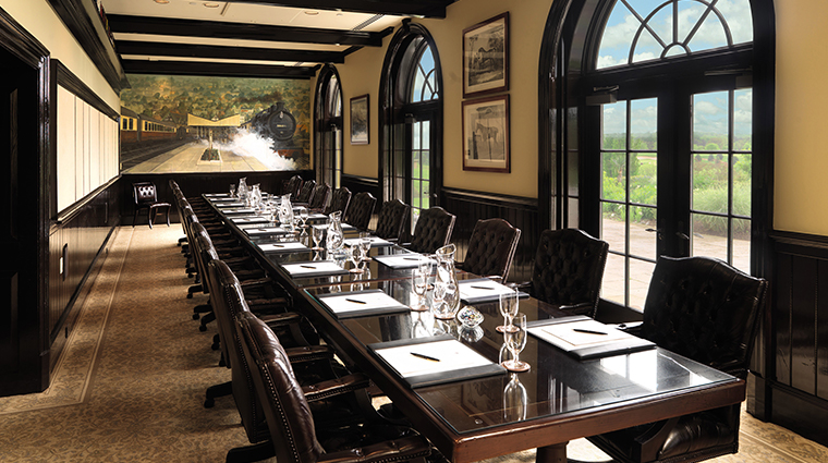 keswick hall and golf club boardroom