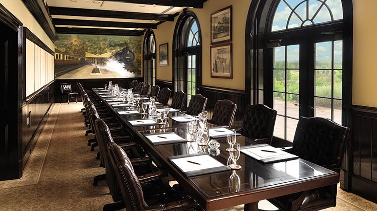 keswick hall and golf club boardroom