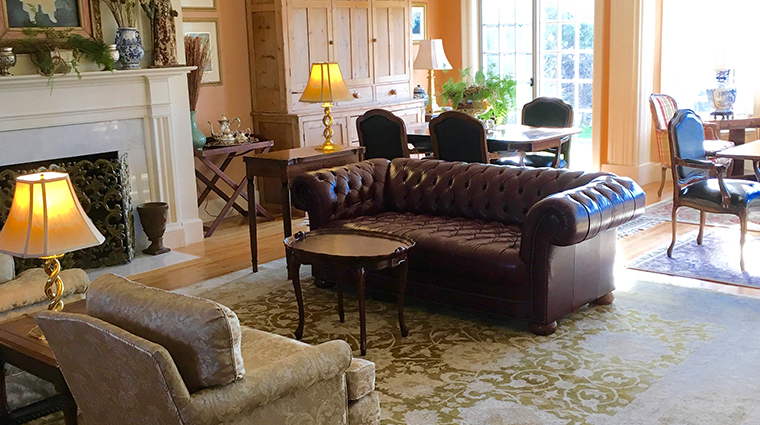Kingsbrae Arms couch