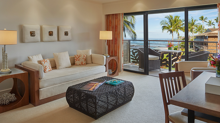 koa kea hotel resort ocean view living room