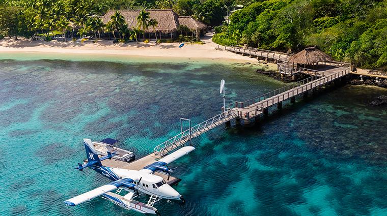kokomo private island fiji arrival jetty