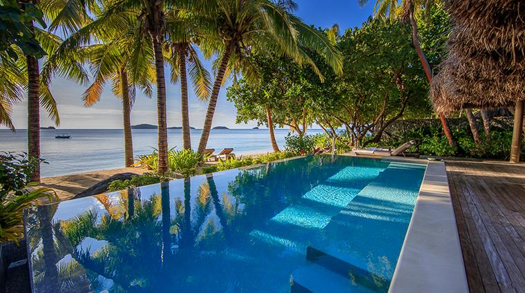 kokomo private island fiji beach villa pool