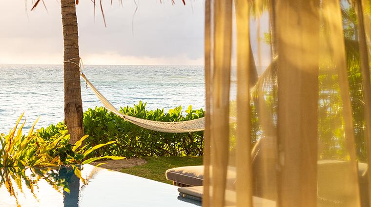 kokomo private island fiji hammock