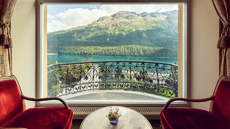 kulm hotel st moritz lobby view summer