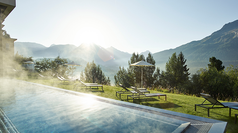 kulm hotel st moritz spa outdoor pool