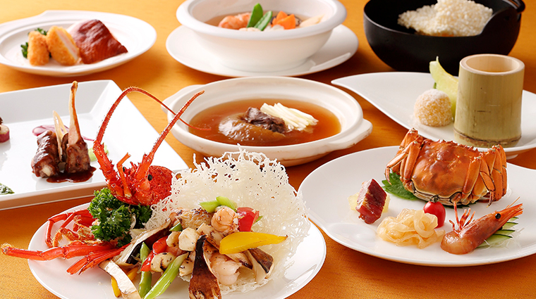 kyoto hotel okura Toh Lee cuisine