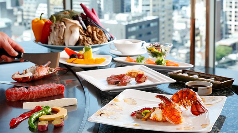 kyoto hotel okura Tokiwa cuisine