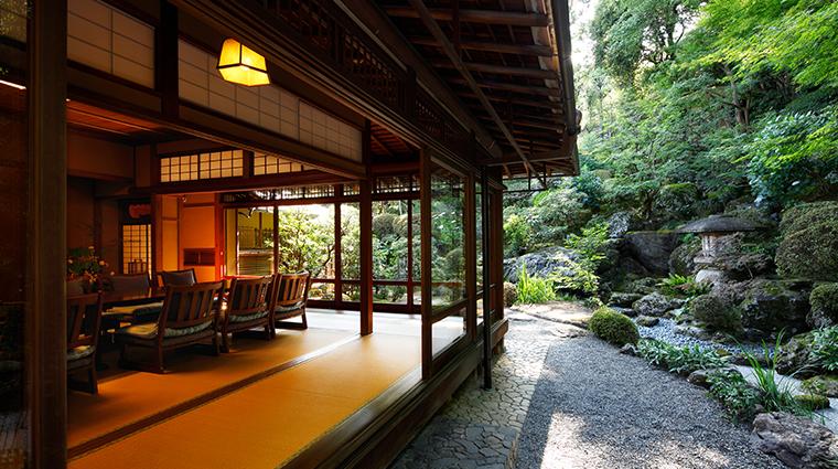 kyoto hotel okura awata sanso view