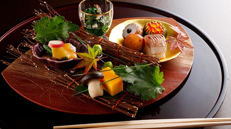 kyoto hotel okura irifune cuisine