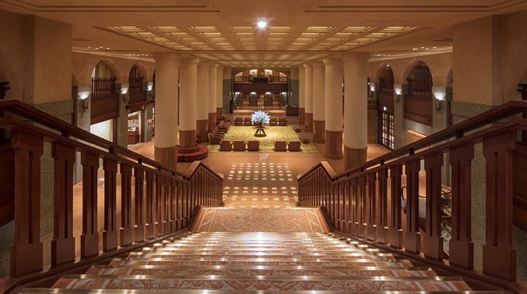 kyoto hotel okura lobby