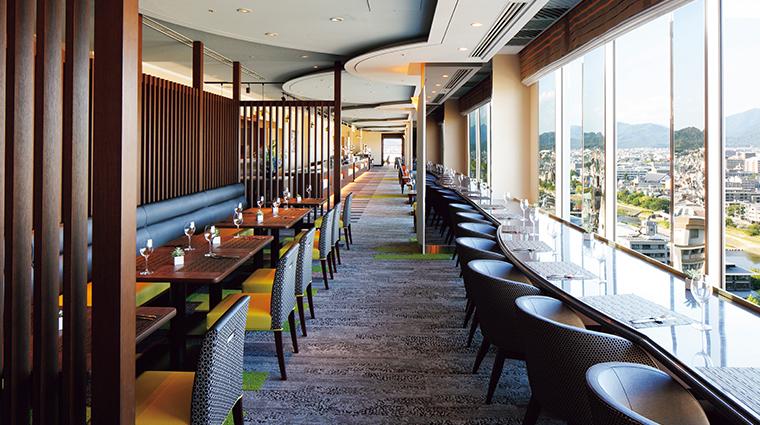 kyoto hotel okura top lounge orizzonte
