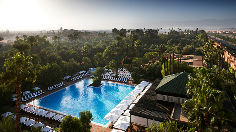 la mamounia pool and gardens