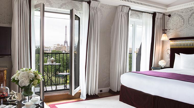 La Reserve Paris suite view