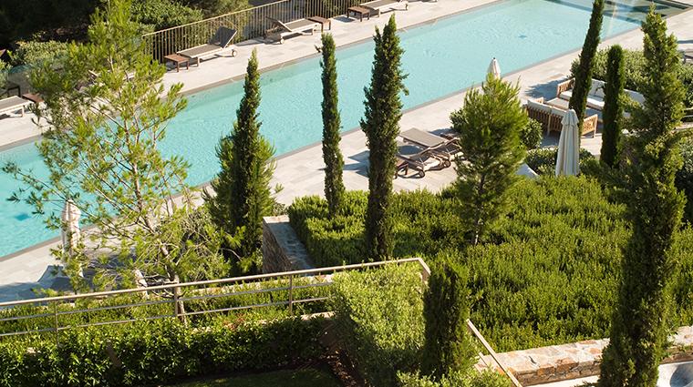 la reserve ramatuelle garden lap pool